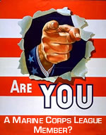 You NEED to join the Marine Corps League TODAY!